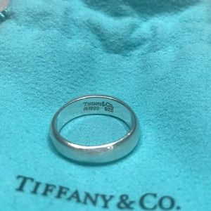 6.5 Tiffany & Co domed ring